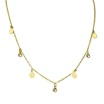 Kette Padma 925 Silber vergoldet